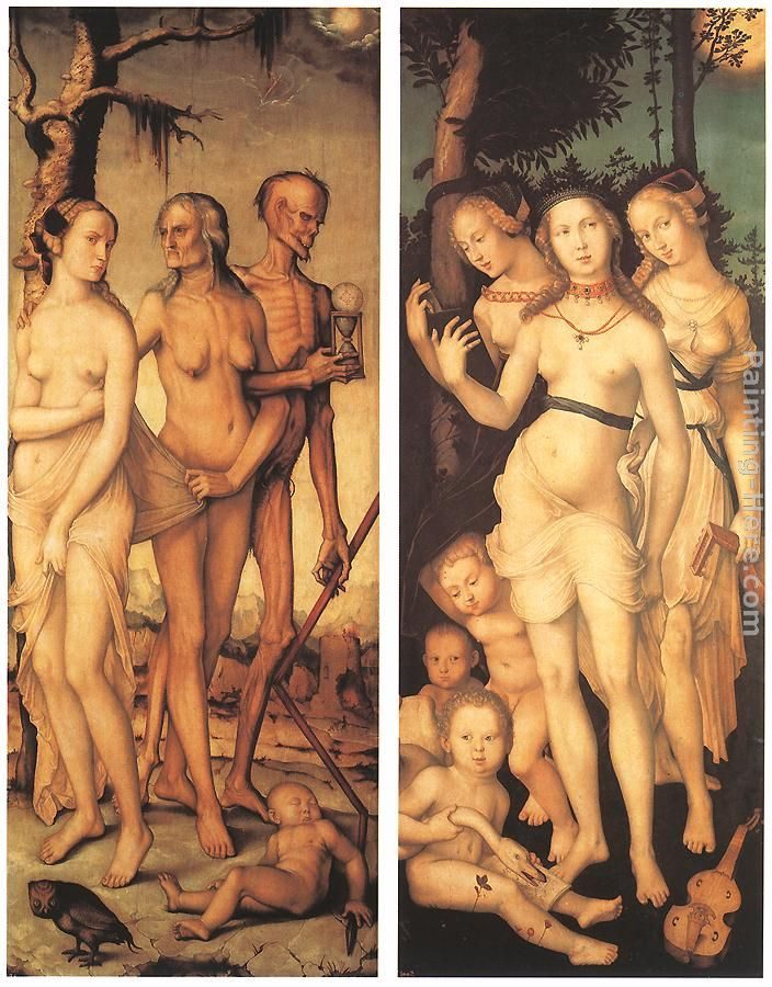Hans Baldung Three Ages of Man and Three Graces