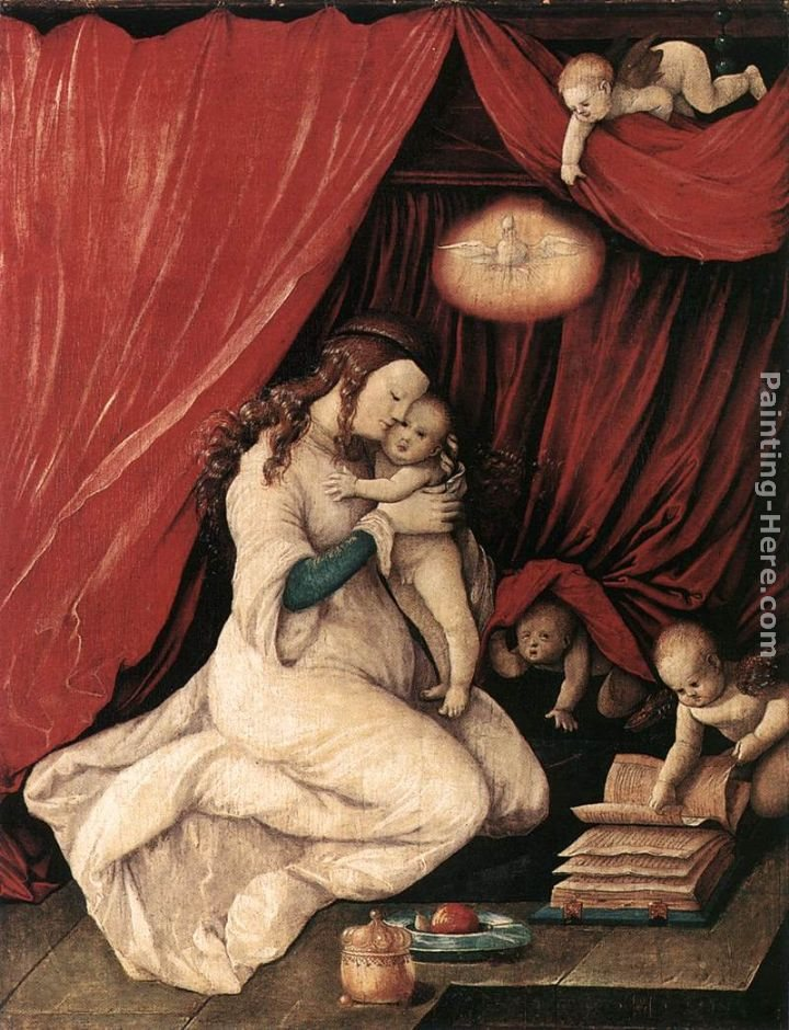 Hans Baldung Virgin and Child in a Room