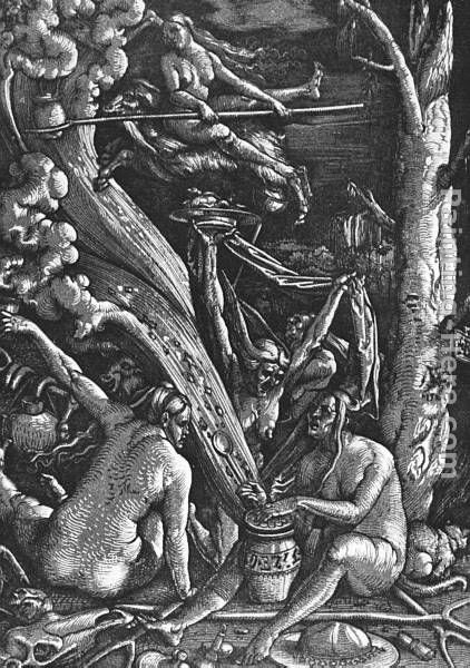Hans Baldung Witches Sabbath