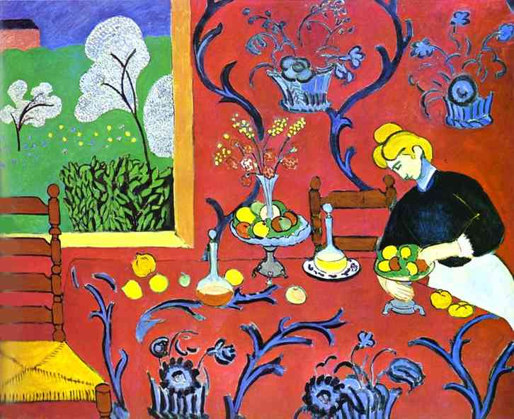 Henri Matisse Harmony in Red