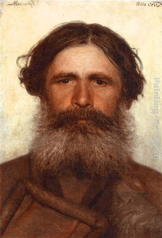 Ivan Nikolaevich Kramskoy The Portrait of a Peasant