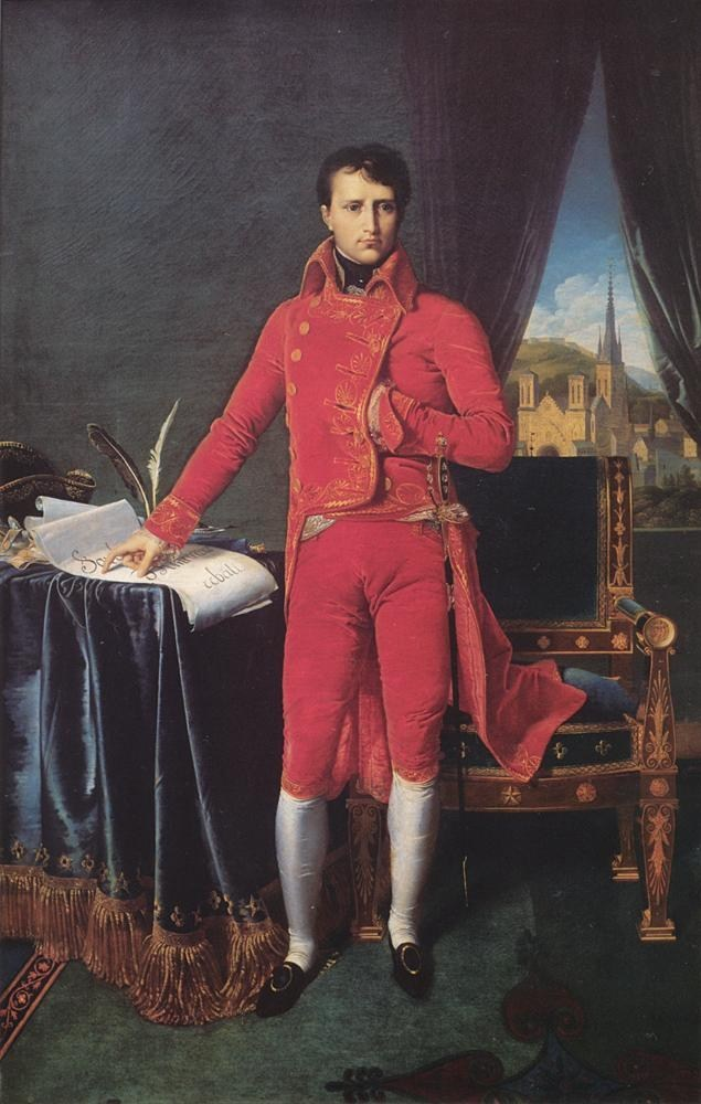 Jean Auguste Dominique Ingres Bonaparte as First Consul