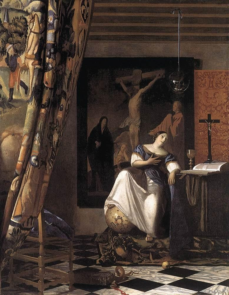 Johannes Vermeer The Allegory of the Faith
