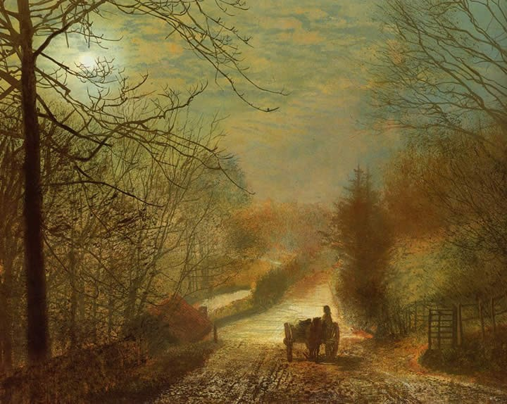 John Atkinson Grimshaw Forge Valley near Scarborough