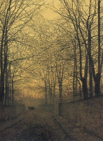 John Atkinson Grimshaw October Gold