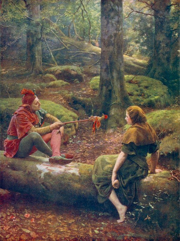 John Collier In the Forest of Arden