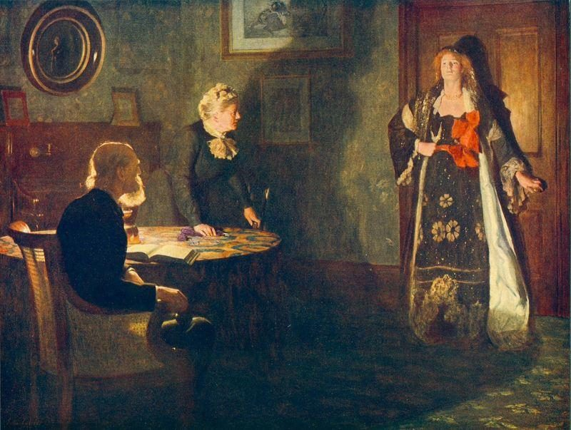 John Collier The Prodigal Daughter