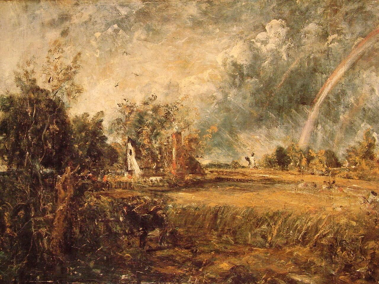 John Constable Cottage,Rainbow,Mill