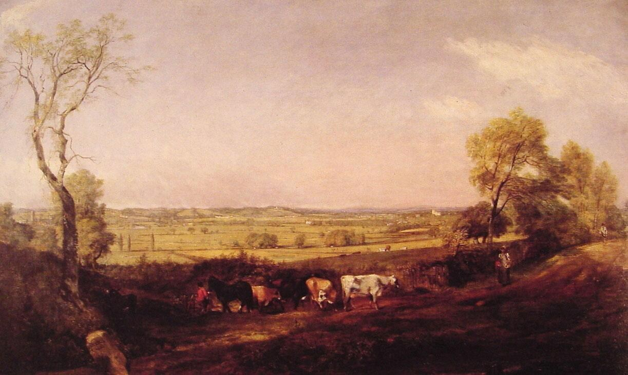 John Constable Dedham Vale Morning