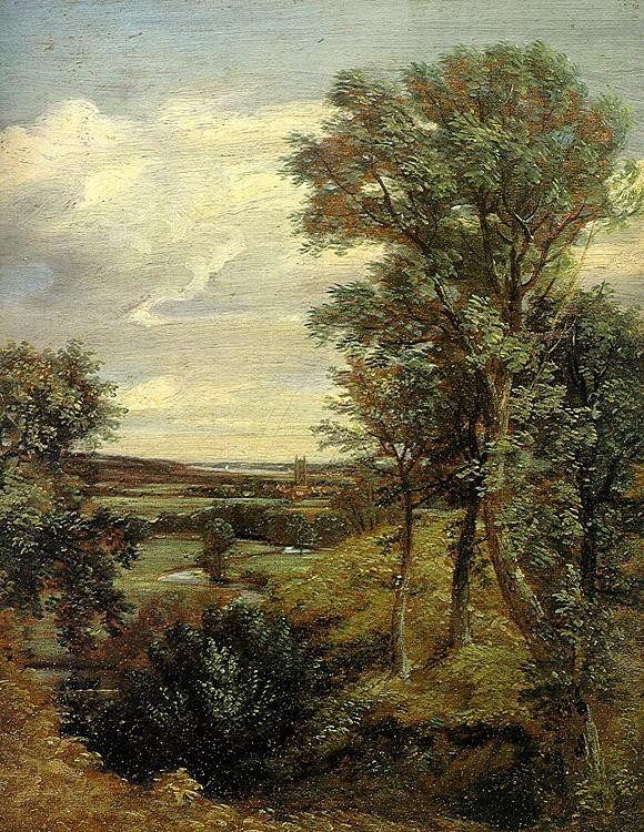 John Constable Dedham Vale of 1802
