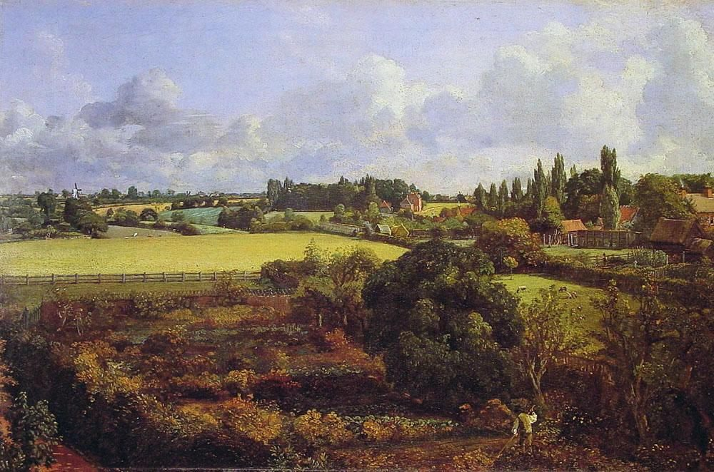 John Constable Golding Constable's Kitchen Garden