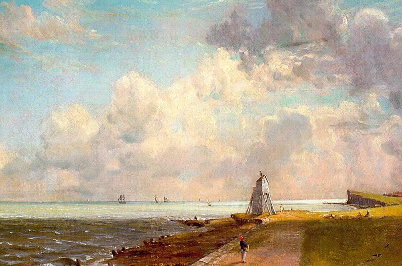 John Constable Harwich Lighthouse