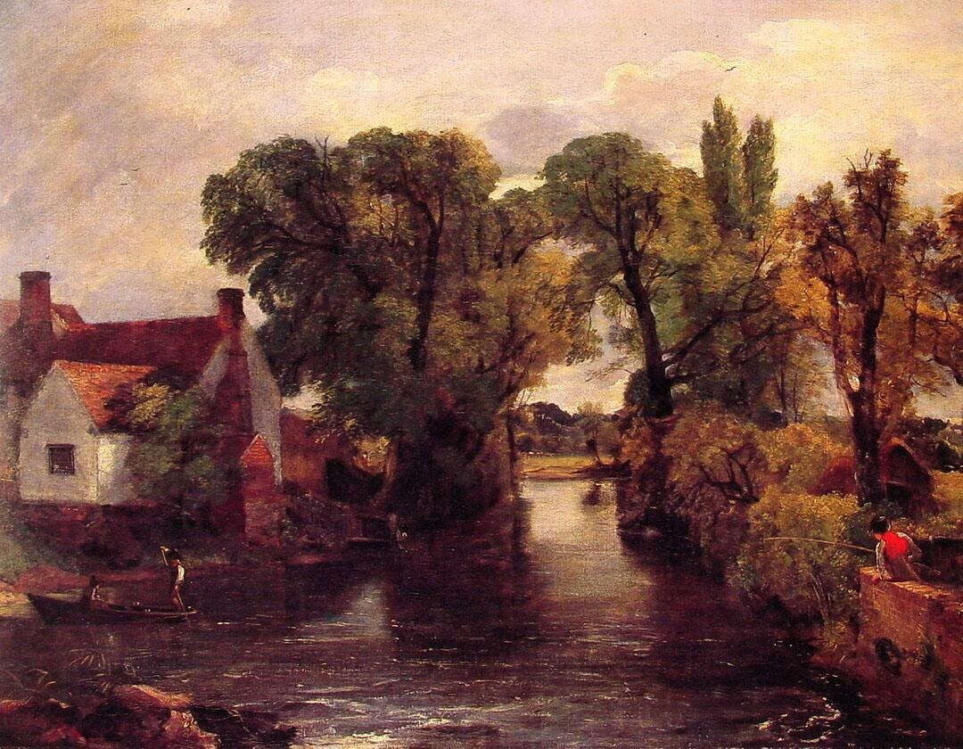 John Constable Mill Stream