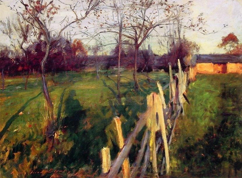John Singer Sargent Home Fields