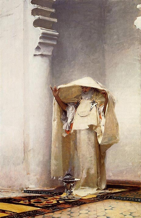 John Singer Sargent Smoke of Ambergris