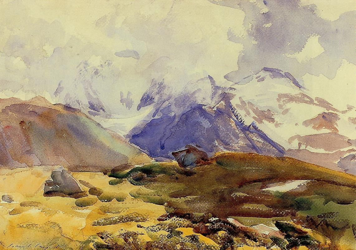 John Singer Sargent The Simplon