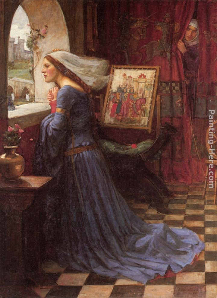 John William Waterhouse Fair Rosamund