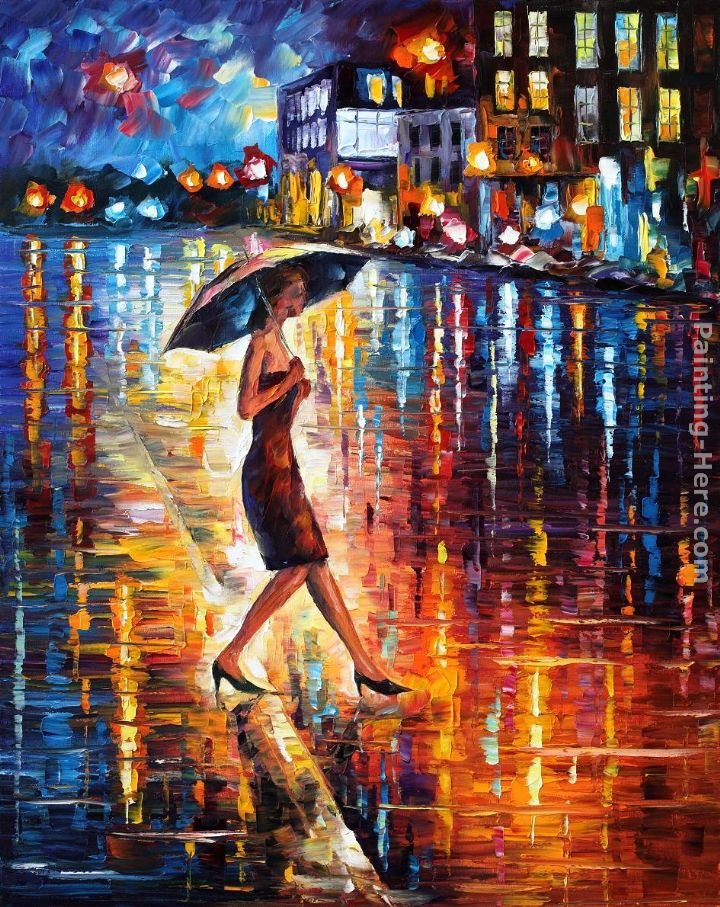Leonid Afremov LATE RETURN