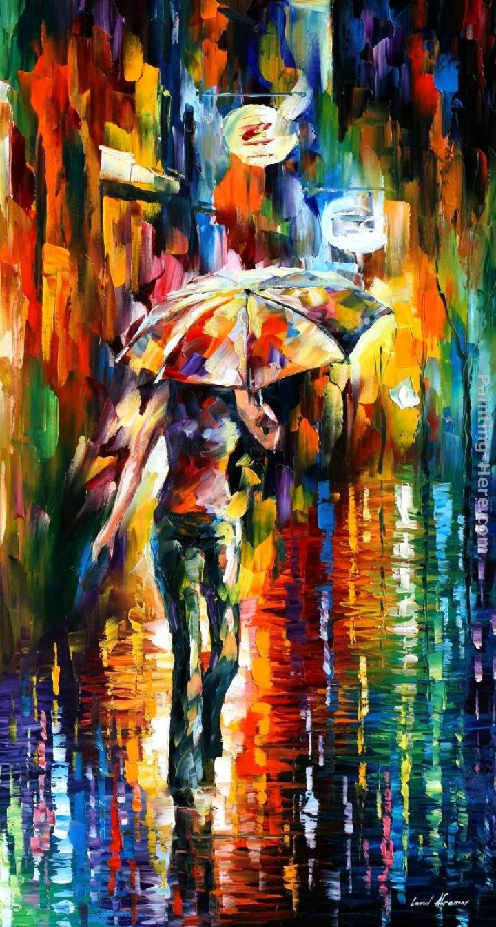 leonid afremov umbrella painting best umbrella paintings