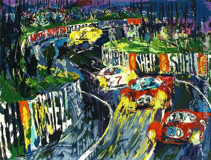 Leroy Neiman 24 Hours at LeMans