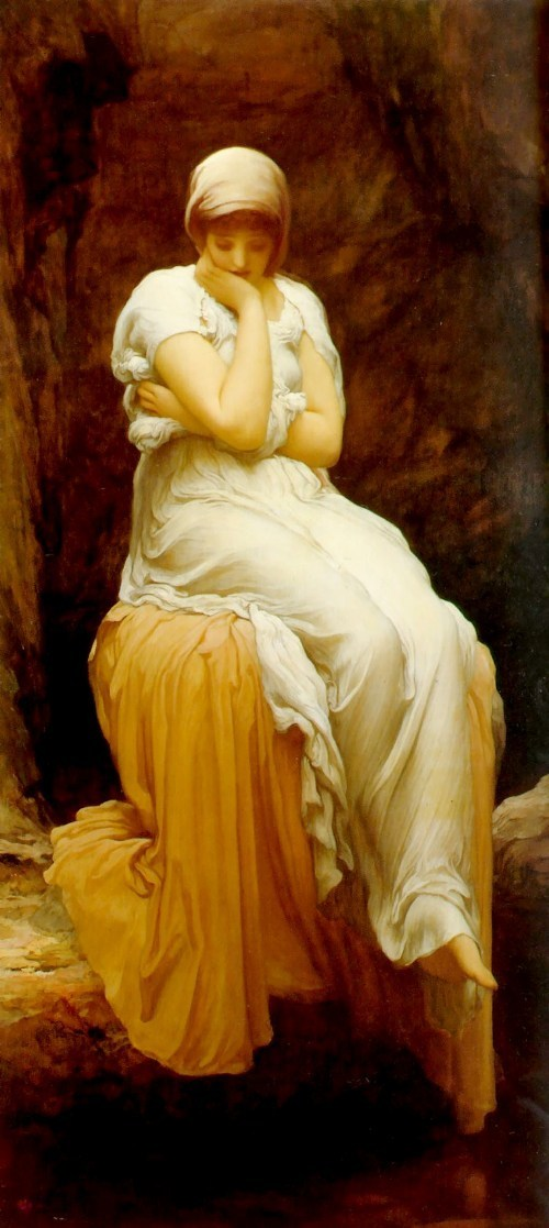 Lord Frederick Leighton Solitude