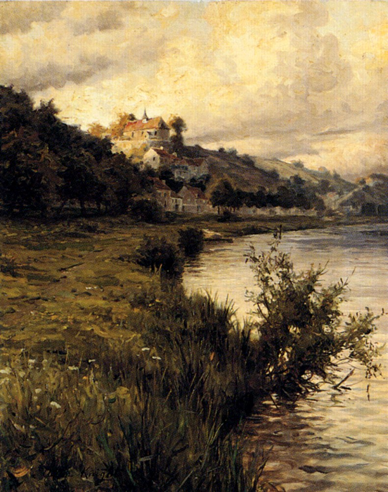 Louis Aston Knight Hilltop Chateau