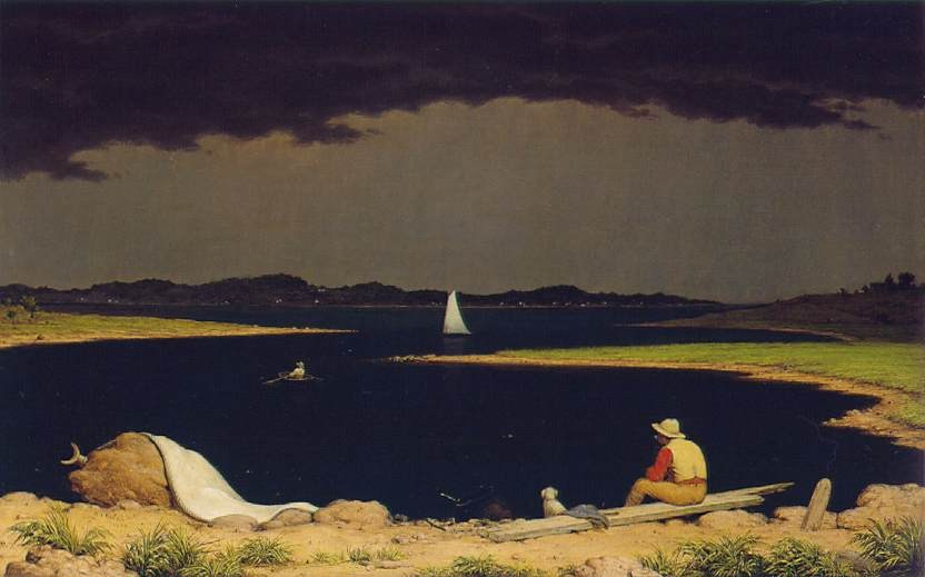 Martin Johnson Heade Approaching Thunderstorm