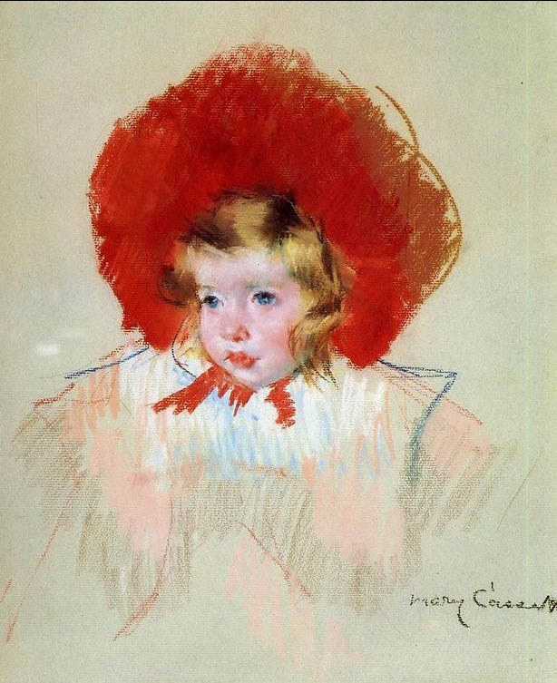 Mary Cassatt Child with a Red Hat