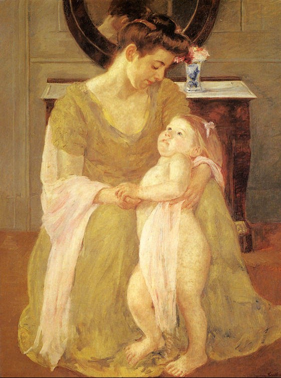Mary Cassatt Mother And Child X Painting | Best Mother And ...