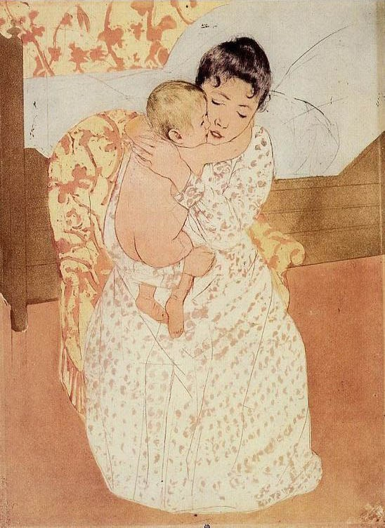 Mary Cassatt Nude Child