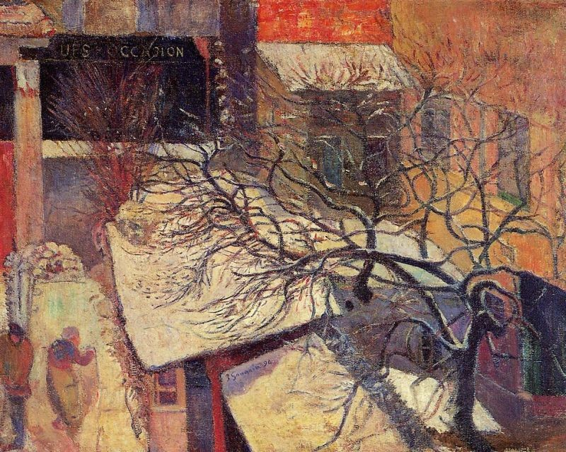 Paul Gauguin Paris in the Snow