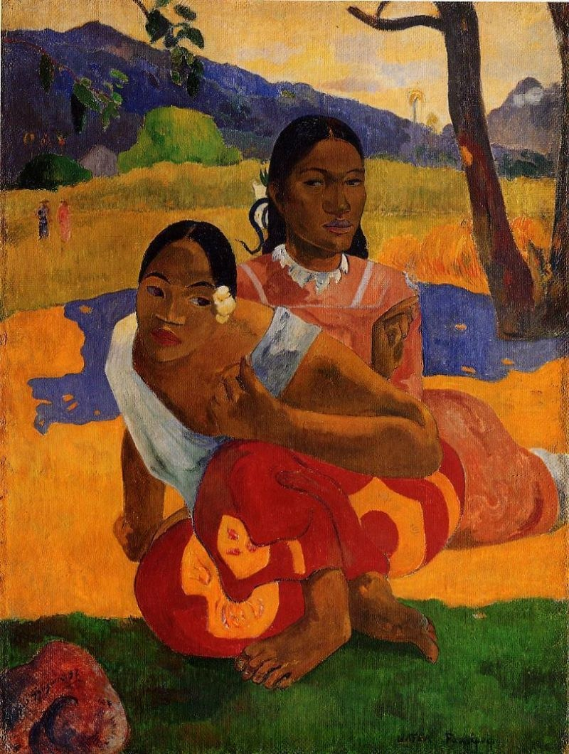 Paul Gauguin When Will You Marry