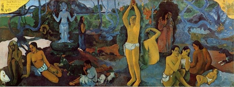 Paul Gauguin Where Do We Come From
