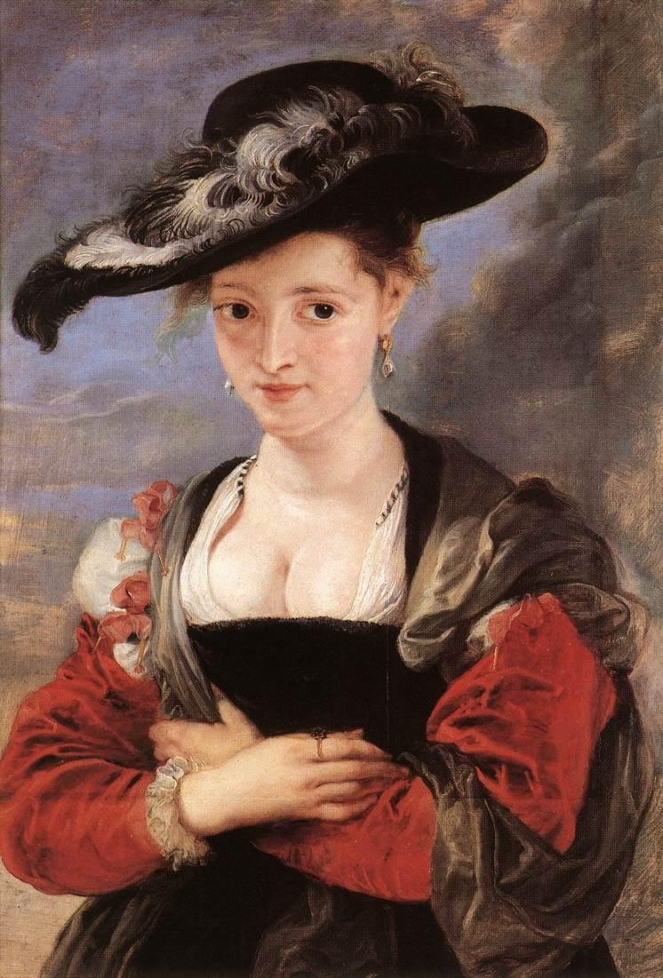 Peter Paul Rubens The Straw Hat