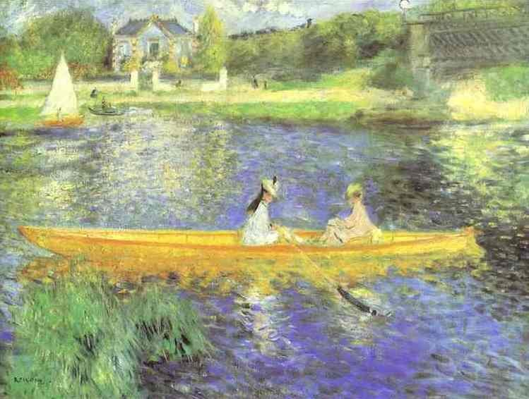 Pierre Auguste Renoir Banks of the Seine at Asnieres