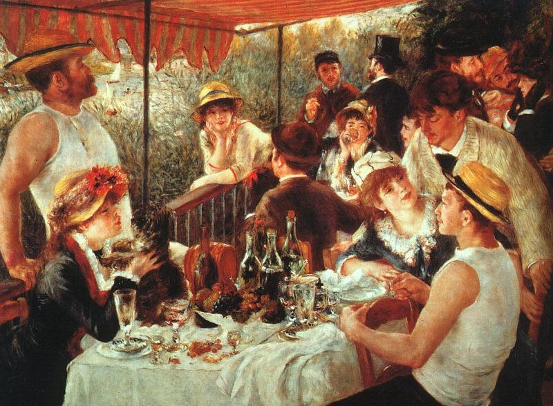 Pierre Auguste Renoir The Boating Party Lunch