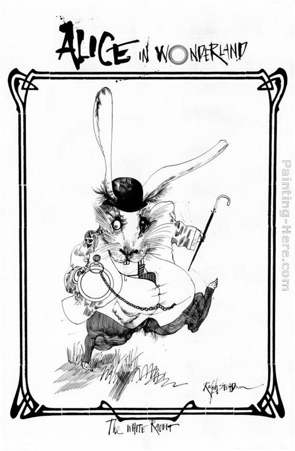 Ralph Steadman Art Alice in Wonderland