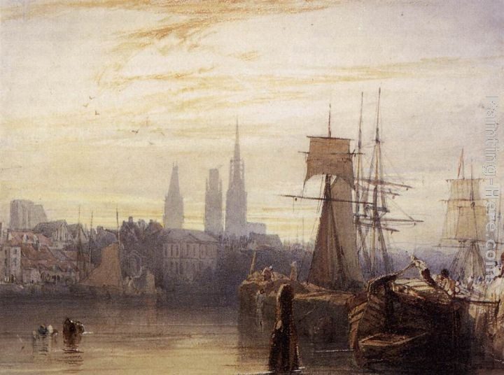 Richard Parkes Bonington Rouen