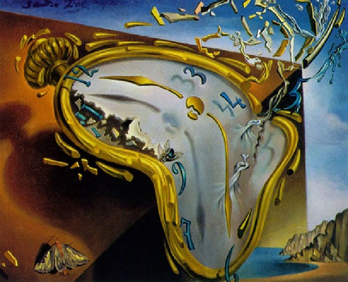 Salvador Dali Melting Watch
