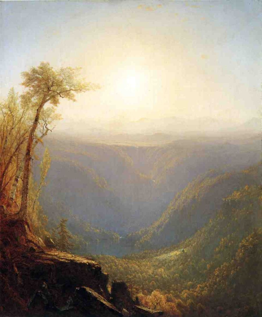 Sanford Robinson Gifford A Gorge in the Mountains