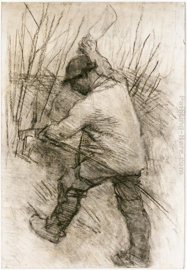 Sir George Clausen The Hedger, Cookham Dean