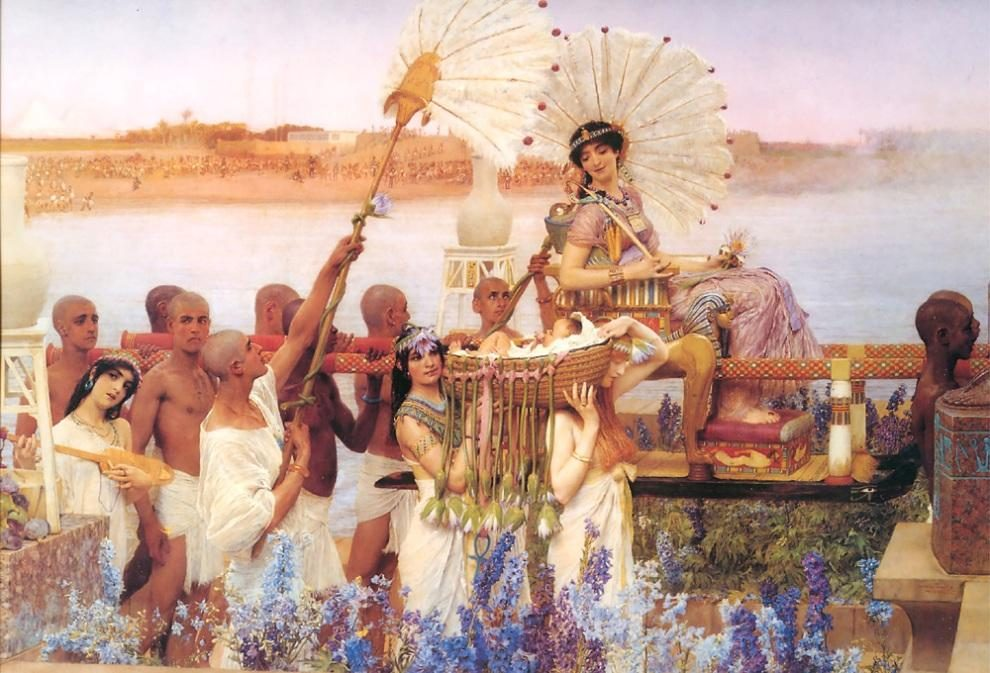 Sir Lawrence Alma-Tadema The Finding of Moses