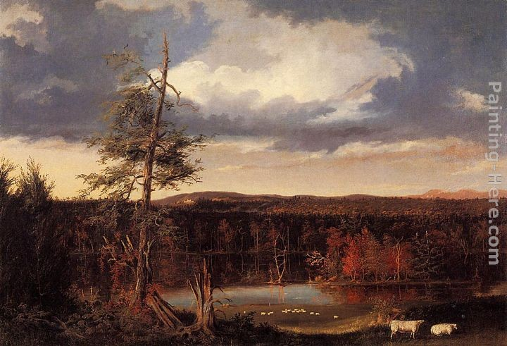 Thomas Cole Landscape, the Seat of Mr. Featherstonhaugh in the Distance