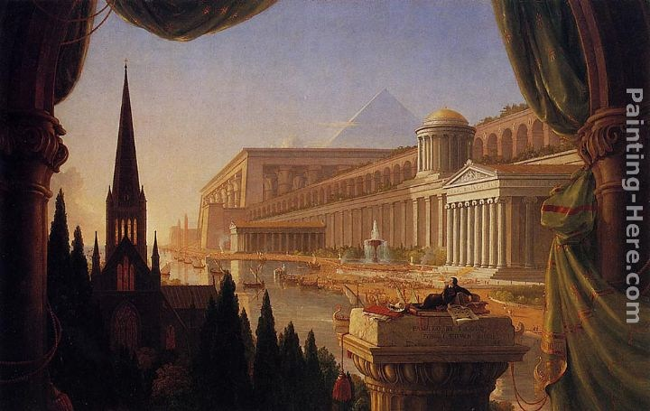 Thomas Cole The Architect's Dream