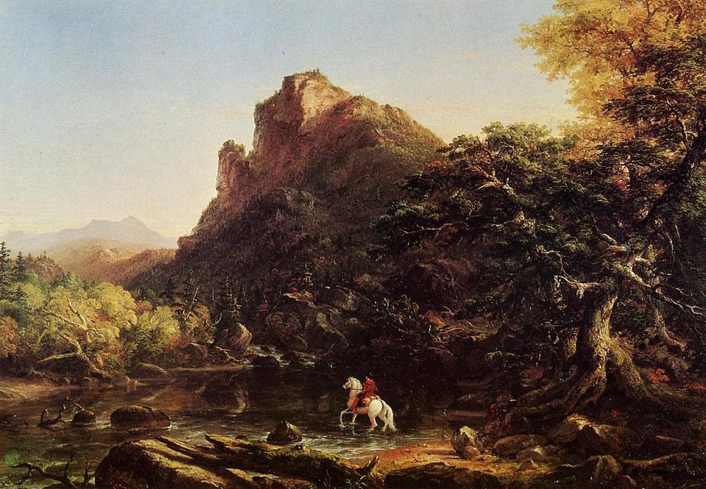 Thomas Cole The Mountain Ford