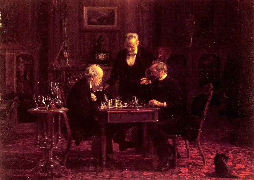 Thomas Eakins The Chess Players