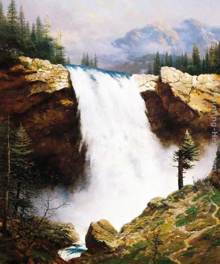 Thomas Kinkade The Power And The Majesty