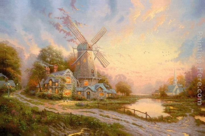 Thomas Kinkade The Wind Of The Spirit
