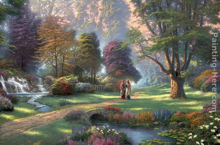 Thomas Kinkade Walk of Faith