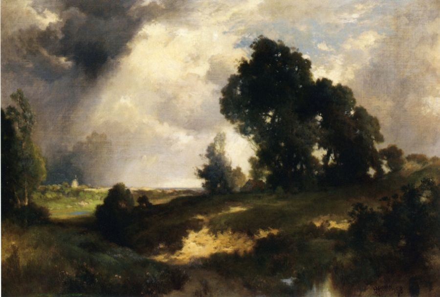 Thomas Moran The Passing Shower